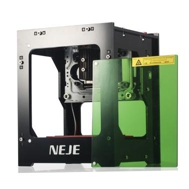 NEJE DK-8-KZ 1500mW 405nm High Speed Mini USB Laser Engraver Carver Automatic DIY Print Engraving Carving Machine Off-line Operation