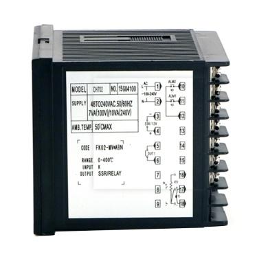 REX-CH702FK02-MV * ABN Temperaturregler Digitalanzeige 0-400 ℃ K Typ SSR / Relaisausgang