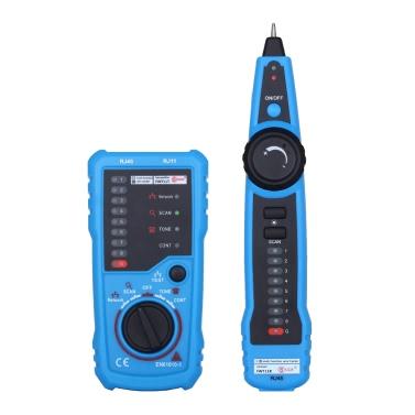 Linha Handheld Multi-funcional ferramenta do perseguidor do verificador do fio da ferramenta do teste do cabo do inventor para a manutenção de rede