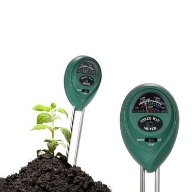 3-in-1 Multifunctional Soil Tester Moisture Meter PH Meter PH Moisture Sunlight Intensity PH Tester