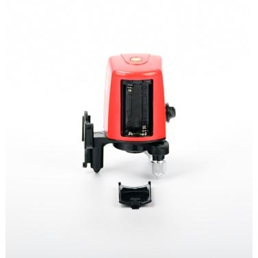 AK435 Mini Portable 360 Grad selbstnivellierend Kreuz Laser Linie 2 Linie 1 Punkt Horizontale Vertikale Rote Linie Lazer Level