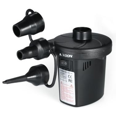 KKmoon USB Bomba de Ar Recarregável Bomba de Ar Inflator Compressor de Ar Bomba Elétrica Inflator Bomba de Ar USB Bomba de Ventilação Elétrica Inflator Deflator Bomba Elétrica para Inflatables com 3 Bicos