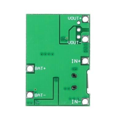 3,7 V bis 9 V 18650 Lithium-Batterie-Ladegerät Board DC-DC-Step-Up-Boost-Modul TP4056 DIY Kit Teile
