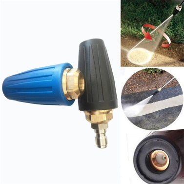Tipps für Hochdruckreiniger Turbodüse 4000psi Max. Rotierende Hochdruckreinigerdüse mit 1/4