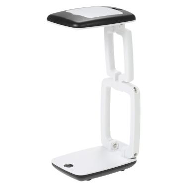 2 in 1 Multifunktionale gefaltete Lupe LED beleuchtete Lupe Praktische Handheld & Schreibtisch Tisch Lupe Werkzeug