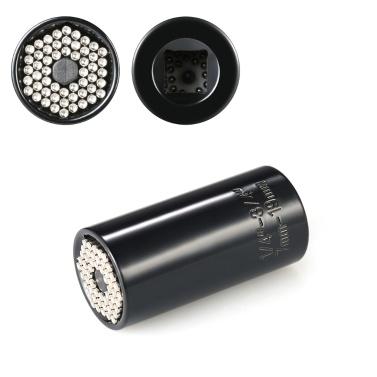 7mm-19mm Chiave universale a bussola universale Set di chiavi per trapano con adattatore per trapano elettrico Strumenti di riparazione professionali