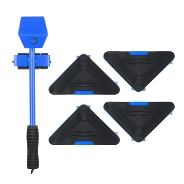 Heavy Duty Furniture Lifter 4 Sliders Easy Safe Moving Moving Tool Shifter 5 Pack Object Mobile Tool Mover Household Hand Tool Set