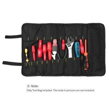 PENGGONG Tool Roll Rolling Bag Organizer Oxford Canvas Chisel Pouch