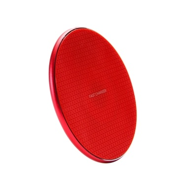 Wireless Charger Circular Wireless Recharger 7.5W/10W Fast Charger QI Standard Compatible with IOS Android