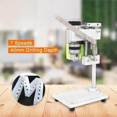 Mini-Bohrmaschine für Tischbohrmaschine Bohrfutter mit variabler Geschwindigkeit 1,5-10 mm