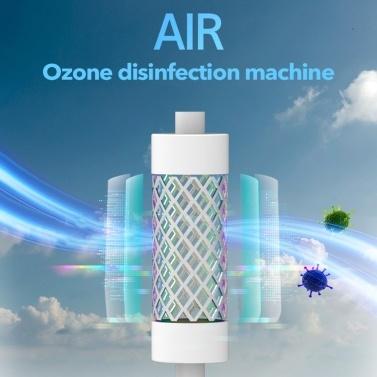 Household Ozone Sterilizer Kitchen Bathroom Deodorization Formaldehyde Removal Sterilization Machine Small Portable Ozone Air Purifier