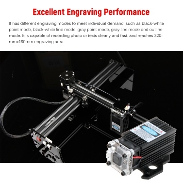 Tragbarer 20-W-Lasergravierer-Desktopgravurmaschinendrucker