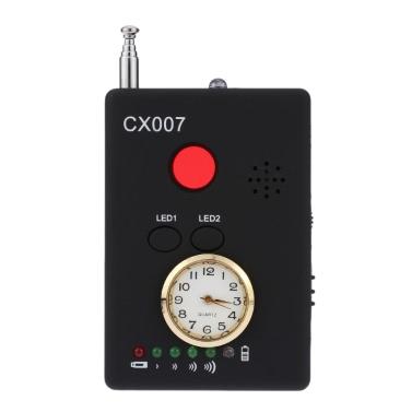 Toute la gamme de signaux RF sans fil Radio Détecteur Caméra Auto-détection multi-fonctionnelle Tracer Finder 1MHz-6.5GHz Gamme Sensibilité réglable