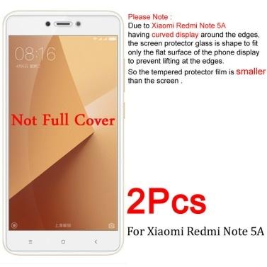 2X Hartglas Displayschutzfolie für XiaoMi Redmi Note 5A