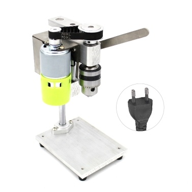 Mini Drill Press for Bench Drilling Machine Variable Speed Drilling Chuck 1.5-10mm