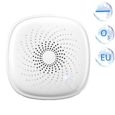 2-in-1 Plug-in Mini Ionisator Luftreiniger Ozongenerator Deodorant Tragbarer Luftfilter Geruchsbeseitiger für Zimmer Rauch und Haustiere