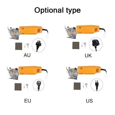 WD-2 tragbare tragbare Minishear 70mm runde Klinge elektrische Stoffschneider Stoffschneidemaschine