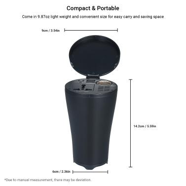 150W Portable Power Inverter DC 12V to AC 220V