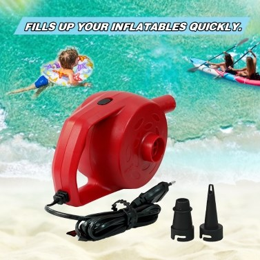 Electric Air Pump for Inflatables 300W Powerful Inflator Pump for Pool Raft Ride-on Swim Ring Quick-refil Inflation Pump for Air Mattress