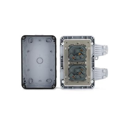 IP66 Weatherproof Waterproof Outdoor Wall Power Socket 16A