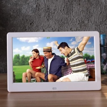 10.1 Inch High Definition 1024*600 Full Function Digital Photo Frame Electronic Album  Picture Music Video