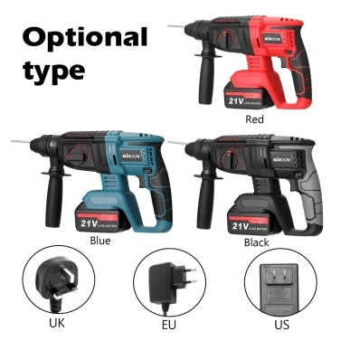 Multifunctional Rotary Hammer Electric Demolition Hammer Impact Drill Punch Power Tools