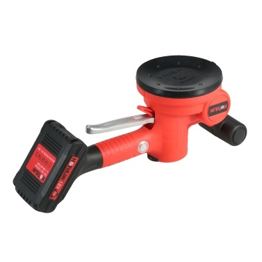 KKmoon 500~12000RPM/MIN Handheld Tile Tiling Machine Self-locking Wall Floor Tiling Machine Portable Tiles Laying Tool Electric Trowel with 130*130mm Suction Cup 10000mAh Lithium Battery EU Plug