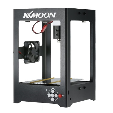 KKmoon K2 1000mW High Speed Miniature Laser Engraving Machine Print Engraver Carver Automatic DIY Carving Off-line Operation Protective Glasses