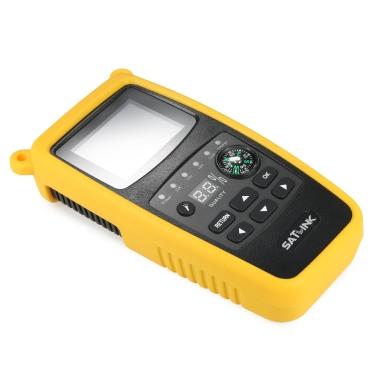 SATLINK WS6933 Digital Satellite Finder Meter Compass Digital Satellite Signal Finder Meter LCD Display