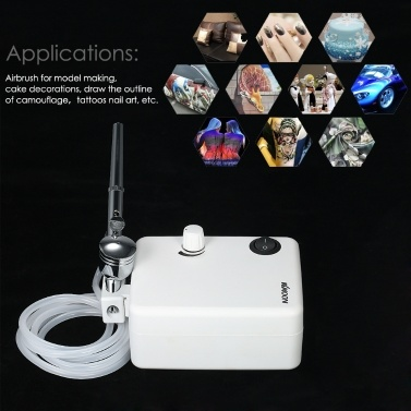 KKmoon Mini Air Pump Airbrush Set