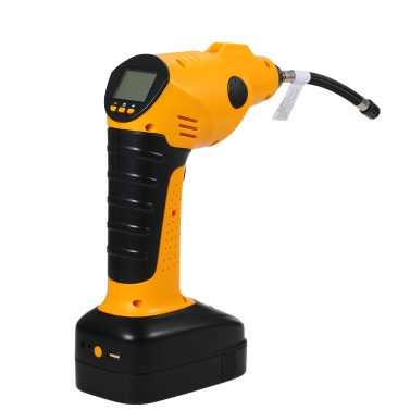 Rechargeable Cordless Tire Inflator Automatic Wireless Handheld Vehicle Pump Multifunctional Portable Emergency Air Compressor