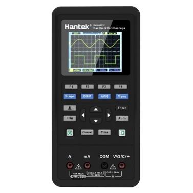 Hantek 2D72 3-in-1-Handheld-Digitaloszilloskop + Wellenformgenerator + Multimeter