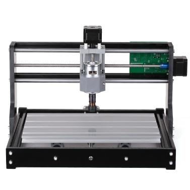 CNC3018プロdiy cncルーターキットミニ彫刻機GRBL制御3軸用pcb pvcプラスチックアクリル木彫りフライス彫刻機でER11コレットXYZ作業領域300×180×45ミリメートル100-240ボルト