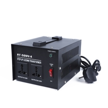 Intelligent Efficient Step Up Down Power Transformer 500W Sales Online au -  Tomtop