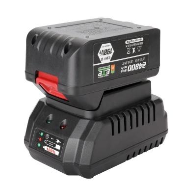 198VF 24800mAh Akku-Elektroschlüssel 380Nm 3/8 Zoll Treiber 2-in-1-Lithium-Batterieschlüssel Brushless-Schlagschrauber Wiederaufladbare Drehmomentschlüssel