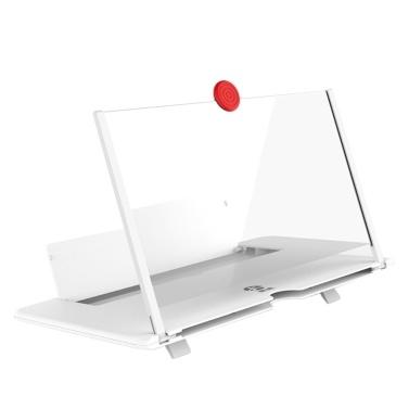 Ziehen Typ Handy-Bildschirmverstärker 3D-Effekt Großbild mit Tischhalterung Handy-Bildschirm Vergrößerungs Falten für Movie Game