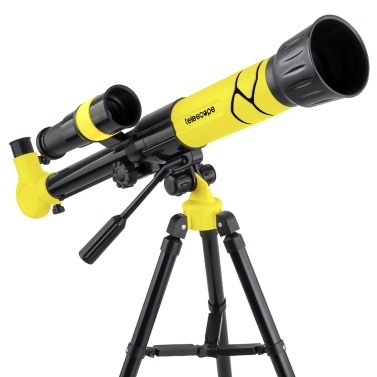NO.XD168-004 Astronomical Telescope With Tripod Entry Level Children Telescopes High Definition Star Viewing Telescope 20x/30x/40x