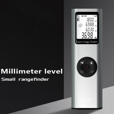 Laser Rangefinder Handheld Portable Infrared Measuring Scale Small Size Indoor High Precisions Waterproof Dust Resistant Utility Tool