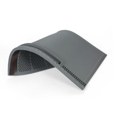 Magnetische 380 * 210mm Wärmedämmung Silikon Pad für BGA Löten Reparatur Lötstation Matte Hohe Temperatur Wartungsplattform mit Schraube Kerben