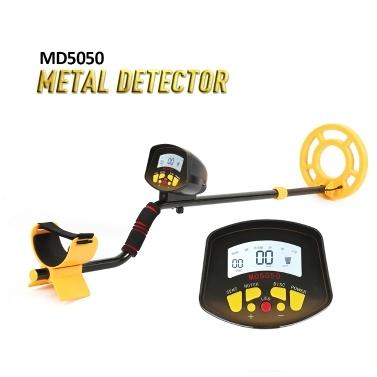 Detector de metales subterráneo de fácil instalación portátil Detector de herramientas de detección de metales Gold Treasure Gold de alta sensibilidad