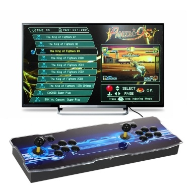 9S+ Arcade Console 2020 in 1 2 Players Control Arcade Games Station Machine Joystick