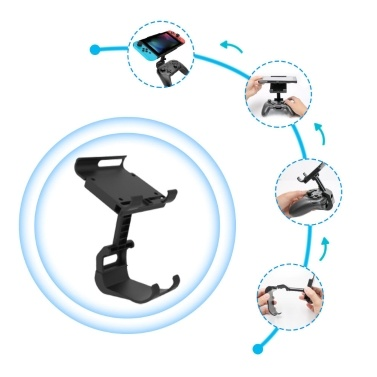Game Controller Mount-Clip Holder