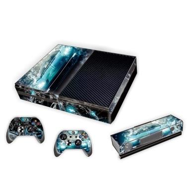 Stilvolle Full Body Protective Vinyl Haut Aufkleber für Xbox eine Konsole Playstation Console Controller Skins Aufkleber Stil 5