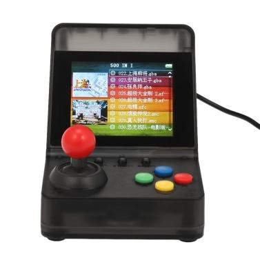 A7 Tragbare Retro-Spielkonsole Integrierte 520 Classic-Spiele