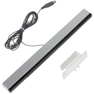 Wired Infrared IR Signal Ray Sensor Bar Receiver Game Move Remote Sensor Bar Inductor Receiver for Game Consoles
