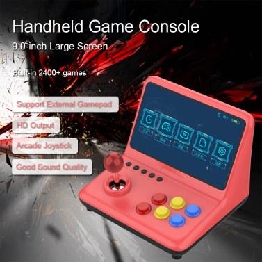 Powkiddy A12 Videospielkonsole Handheld Game Player Arcade Joystick