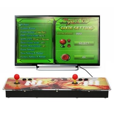 6S Arcade Console 1399 in 1 2-Spieler-Steuerung Arcade Game Box Machine Joystick