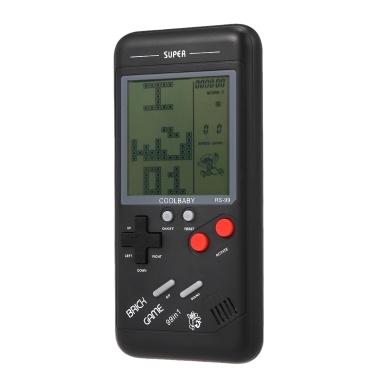 RS-99クラシックゲームコンソールテトリスゲームブロックゲームパズルゲームハンドヘルドゲームマシン
