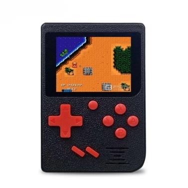 Q6 Handspielkonsole AV Out Gaming Maschine 800 mAh Batterie Eingebaute 129 Klassische Spiele Mit 2,4 zoll Display
