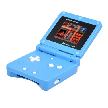 DG-170 Portable Handheld Game Console Clamshell Pocket Game Player 98 Different Classic Games w/ TV Out Function